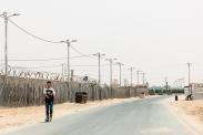 Campo profughi di Za'atari, Governatorato di Mafraq, Giordania.